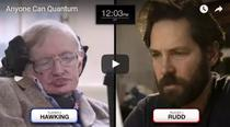 Quantum Chess - Stephen Hawking versus Paul Rudd