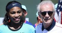Raymon Moore si Serena Williams