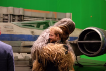 Printul Harry si Chewbacca