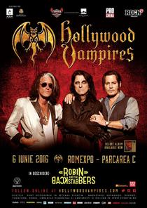 Robin and the Backstabbers canta in deschiderea concertului Hoolywood Vampires