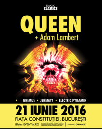 Afis Queen+Adam Lambert