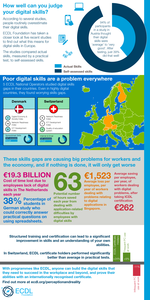 Infographic - Perception & Reality - Measuring Digital Skills in Europe