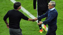 Joachim Low (Germania) si Adam Nawalka (Polonia)