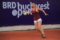 Simona Halep, la BRD Bucharest Open