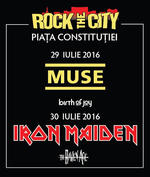 Afis Rock The City 2016