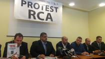 Protest RCA al transportatorilor