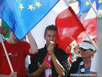 Protest antiguvernamental in Polonia