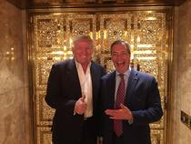 Donald Trump si Nigel Farage