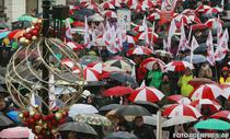Protest in Polonia