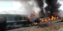Accident de tren din Iran