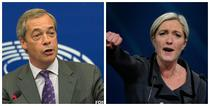 Nigel Farage si Marine Le Pen