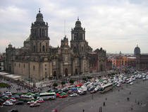 Trafic in Mexico City