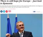 Liviu Dragnea, portret in The Independent