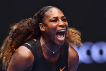 Serena Williams, la Australian Open