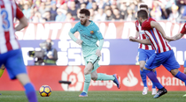 Lionel Messi, decisiv in partida cu Atletico Madrid