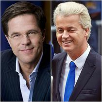 Mark Rutte/ Geert Wilders