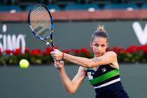 Karolina Pliskova, la Indian Wells