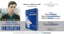 Lansare de carte: Constellation, de Adrien Bosc