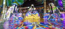SITTING GUARDIANS OF TIME