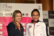 Simona Halep vs Heather Watson