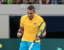 Nick Kyrgios, decisiv in Cupa Davis