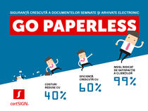 Go paperless cu certSIGN