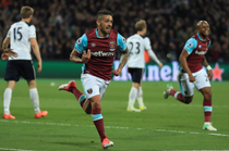 West Ham United, victorie in fata lui Tottenham