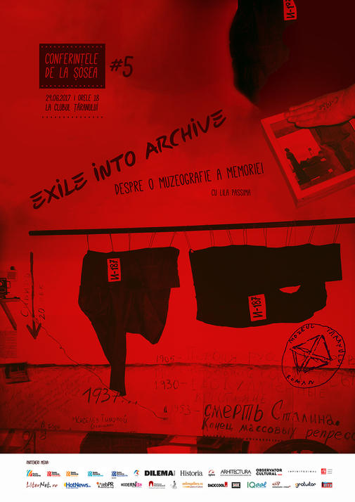 Afis Exile into Archive - Lila Passima