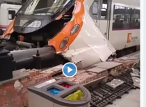 Accident tren Barcelona