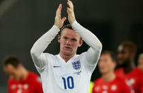 Wayne Rooney, in tricoul Angliei