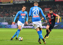 Napoli, lider in Serie A