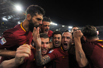 AS Roma, victorie in fata lui Lazio