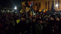 Protest in Cluj