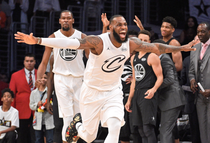 Echipa lui LeBron James a castigat All Star Game 2018