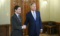 Wess Mitchell si Klaus Iohannis