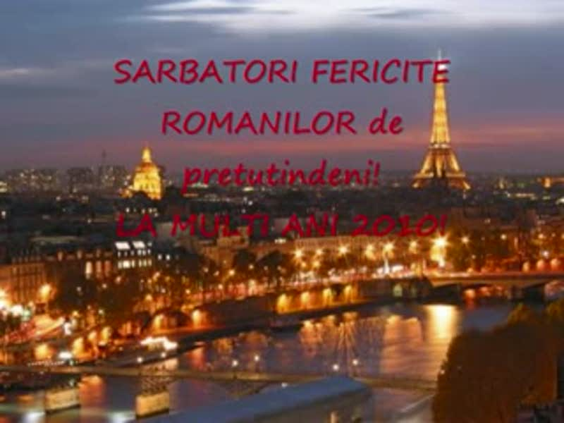 Sarbatorile la ROMANII din diaspora