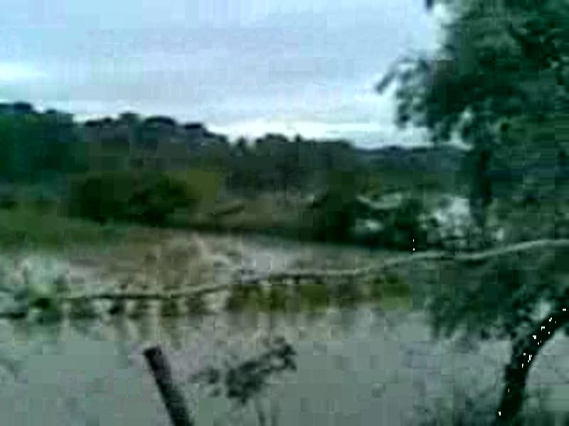 zona inundata la Galati