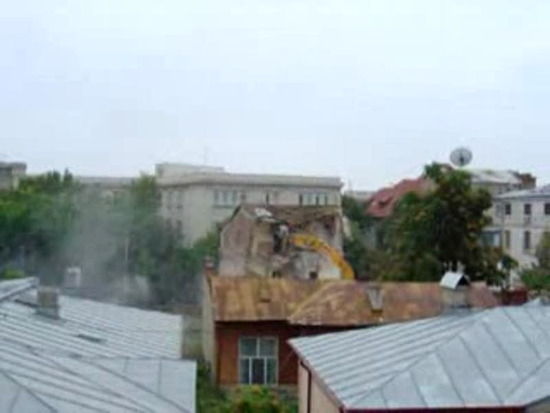 demolarea Bucurestiului profund