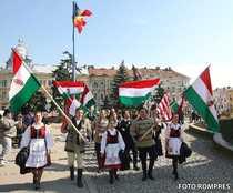 Maghiarii din Romania isi sarbatoresc Ziua Nationala