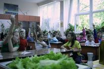 Copiii de la Scoala Generala 173, invata despre alimentatia sanatoasa