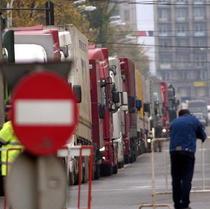 Transportatorii romani, afectati de salariul minim din Germania