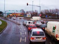 Galerie foto: Cum e organizat traficul rutier in Dublin