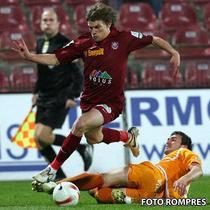 CFR l-a recuperat pe Dubarbier pentru partida cu Dinamo.