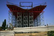 Pasajul Basarab - capat de constructie