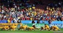 Tricolorii se incalzesc in Cipru, inaintea jocurilor din prel. EURO 2012