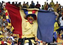 Suporteri la Romania - Franta