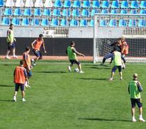 Fotogalerie: Antrenamentul nationalei inainte de meciul cu Franta