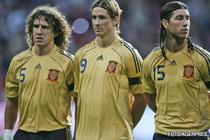Puyol, Torres si Ramos, in lotul pentru CM 2010