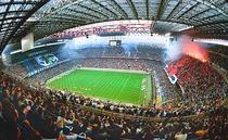 Atmosfera superba pe San Siro la un Milan-Inter