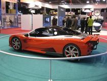Lada prezenta in 2008 la Paris un concept coupe